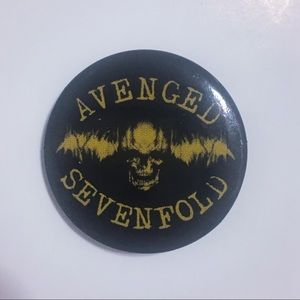 🆓 Avenged Sevenfold Pin